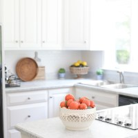 How I Painted My Kitchen Countertops