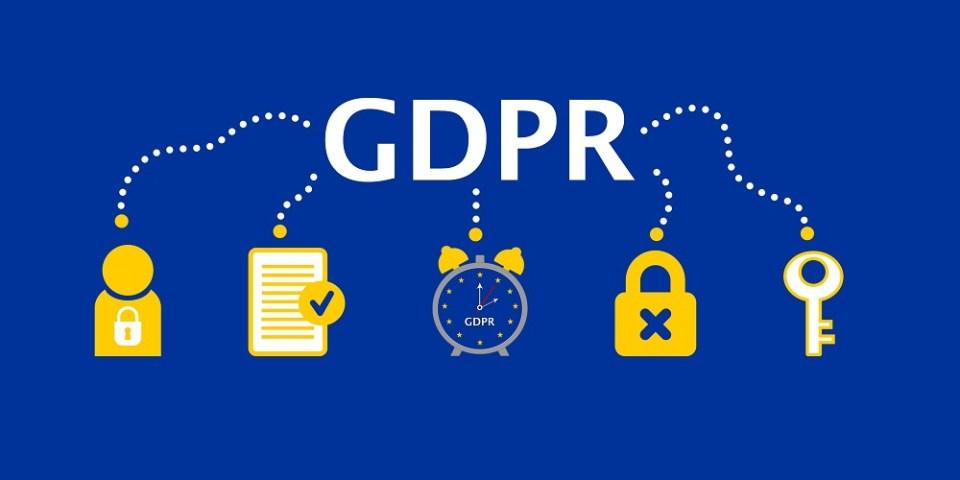 General Data Protection Regulation (GDPR) Concept Illustration – 25 May 2018