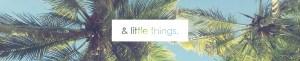 & litte things.