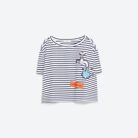 t shirt Zara patches