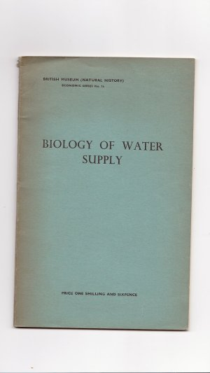 Biology of Water Supply