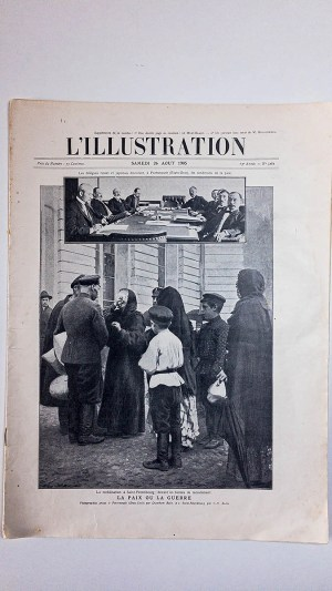 L'Illustration No 3261 Samedi 26 Aout 1905