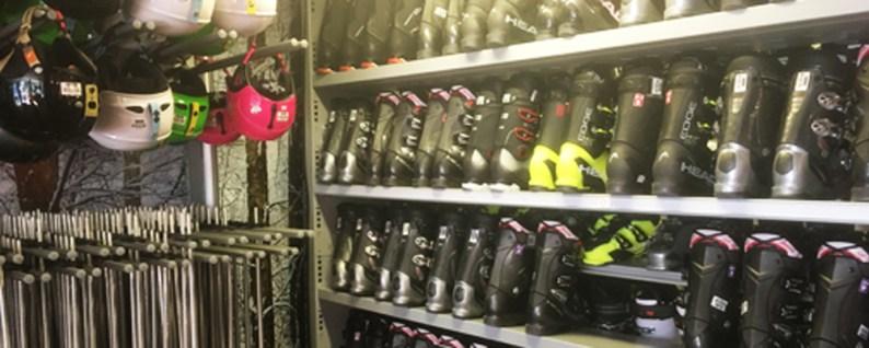 Rental shop boots