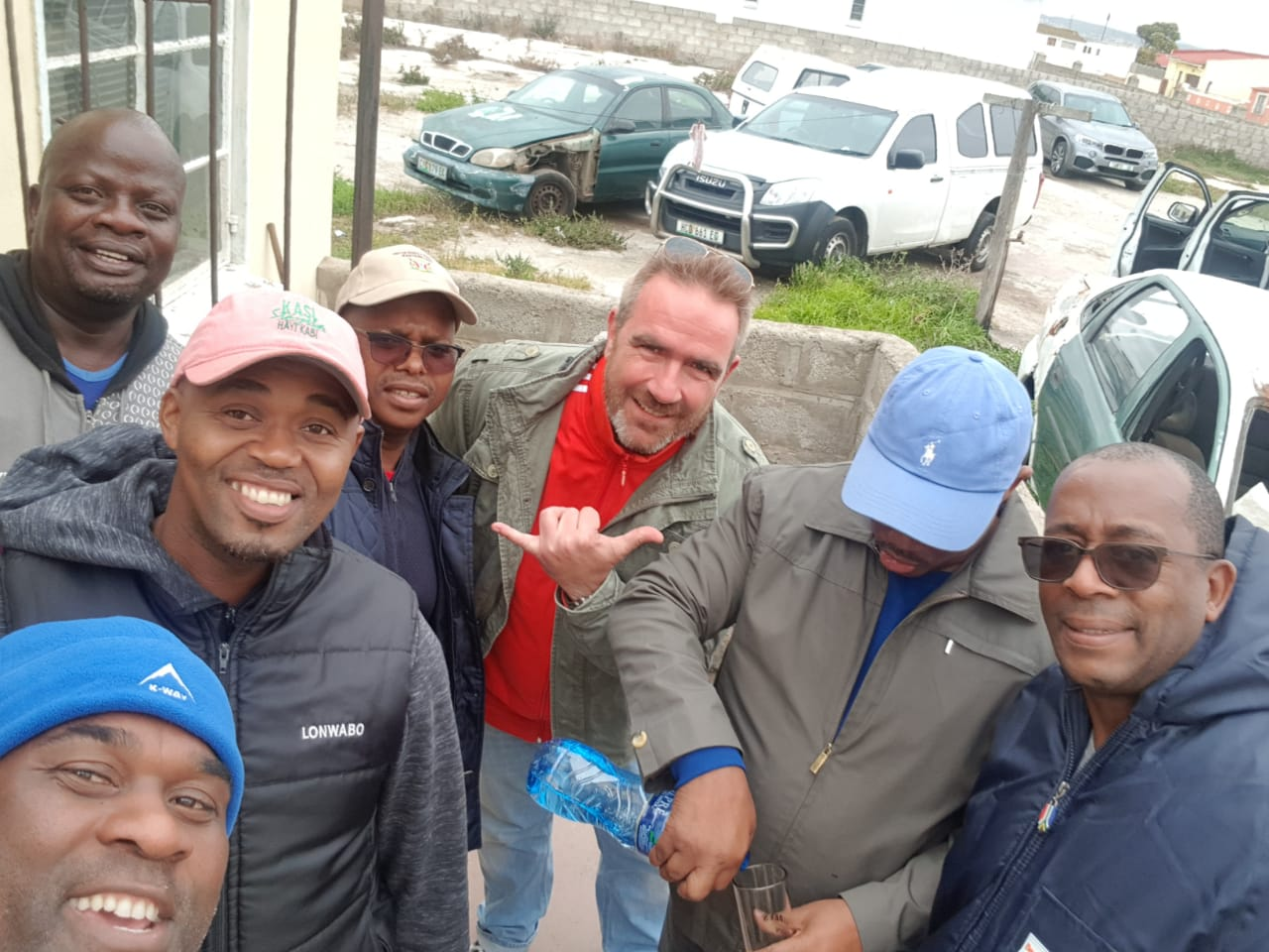 Township-Party in ZA