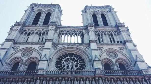 Facciata Notre Dame