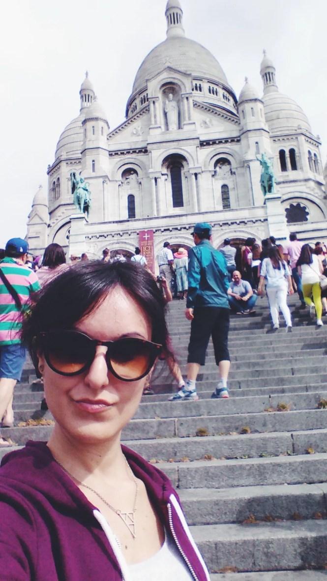 Parigi Sacre Coeur Basilica del Sacro Cuore Montmartre