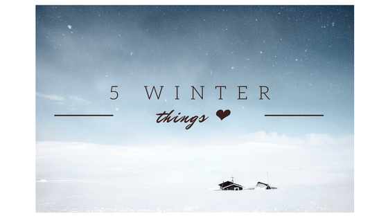 5 Winter Things