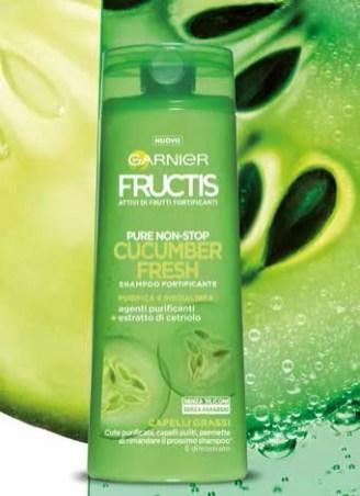 Shampoo Garnier Fructis Pure Non Stop Cucumber Fresh