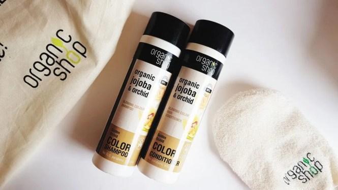 Shampoo e Balsamo Organic Shop