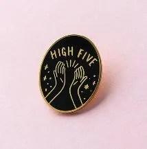 Old English Company High Five Pin