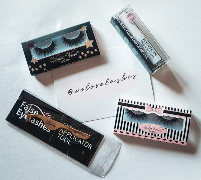 We Love Lashes PR Sample