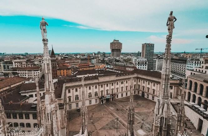 Visitare Milano: le Terrazze del Duomo Vista