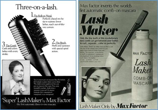 vintage mascara ad max factor