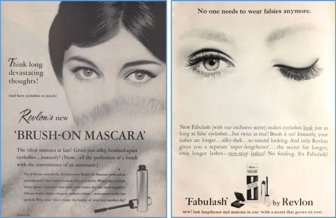 vintage mascara ad revlon