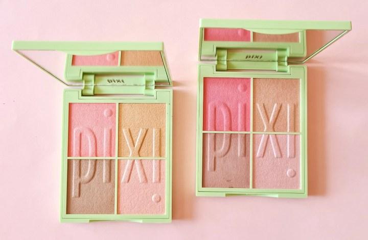 Collezione makeup Pixi Beauty - Nuance Quartette palettes