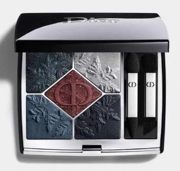 dior makeup natale 2020 black night palette