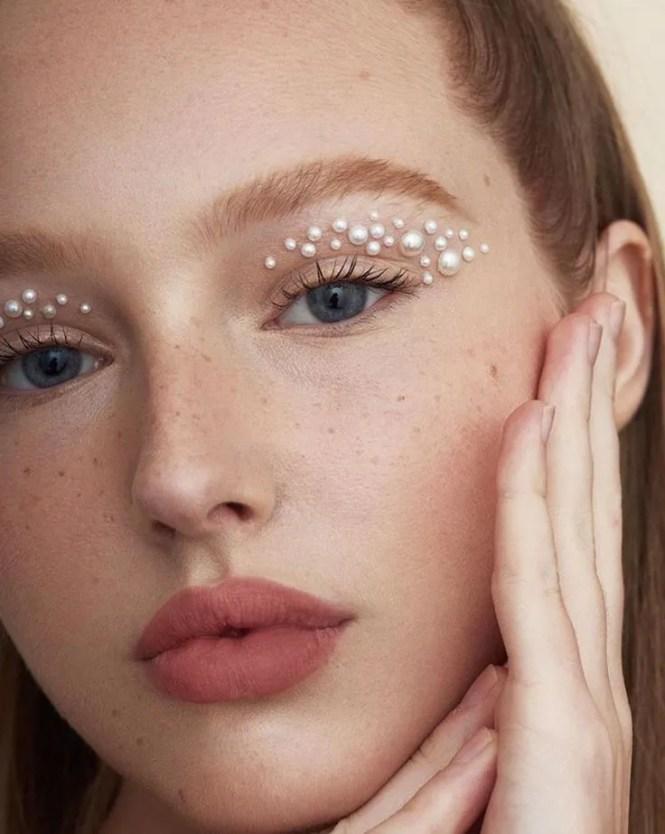 pearl makeup