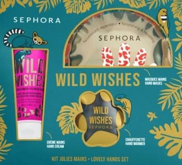 sephora collection kit mani wild wishes
