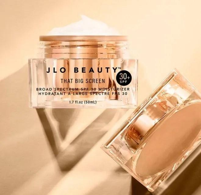 jlo beauty that big screen spf moisturiser