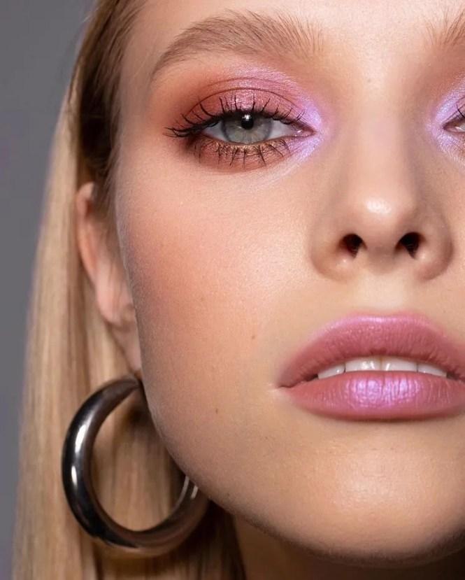 lilac makeup inspo di primavera