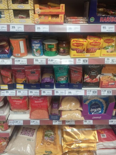 tesco indian selection