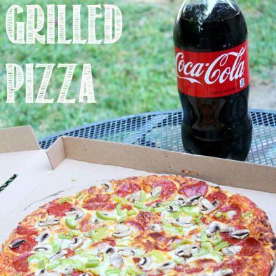 Effortless Grilled Pizza