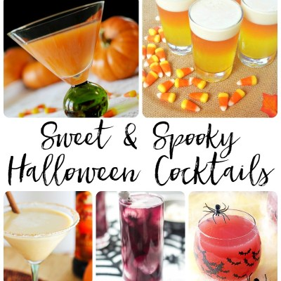 Sweet and Spooky Halloween Cocktails