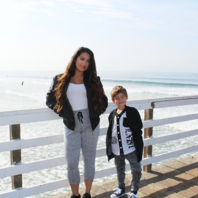 Mommy and Son Style: Bombers and Joggers