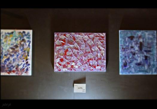 Andrea Bellocchio madre terra mostra di pittura