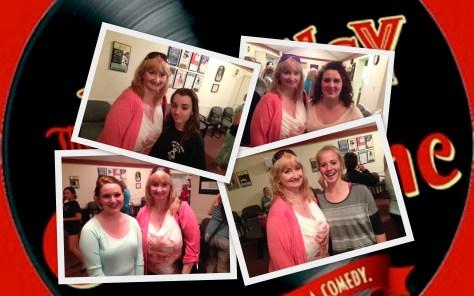 Melissa Kahan, Kate Krynowsky, Rachel Scheibel & Morgan Burke with Andrea