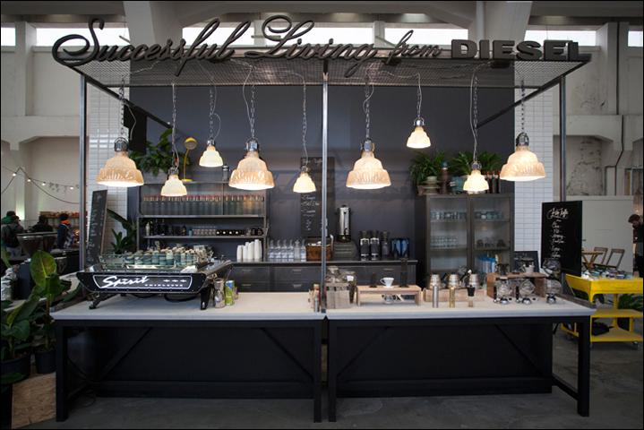 DIESEL Social Kitchen   andrea bianchi studio   show - exhibit ...