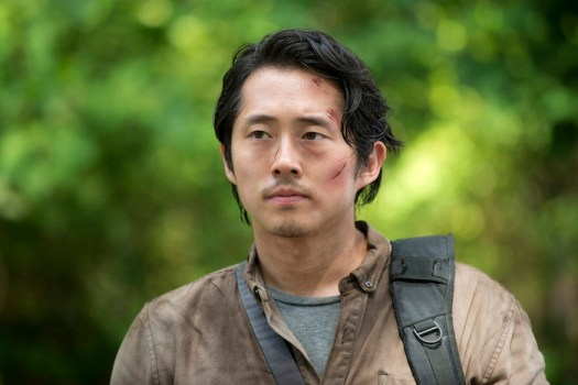 Glenn, played by Steven Yeun
