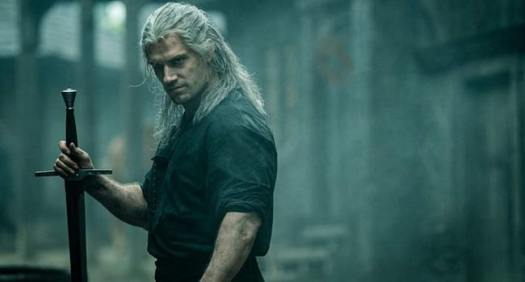 Henry Cavil as Gerald in The Witcher