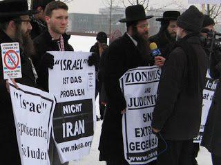 Neturei Karta contro il sostegno tedesco a Israele