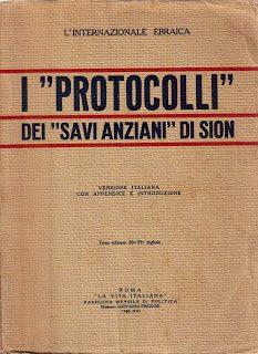"""Per finirla con i """"Protocolli dei Savi di Sion"""""""