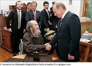 Il sostegno di Solgenitsin alla Russia di Putin