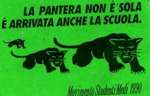 1990-2010: ricordo della Pantera