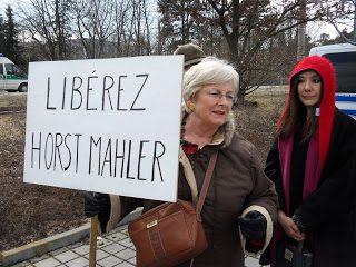 Sabato 26 marzo 2011: manifestazione in favore di Horst Mahler
