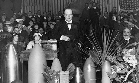 L'uso scandaloso delle armi chimiche da parte di Churchill