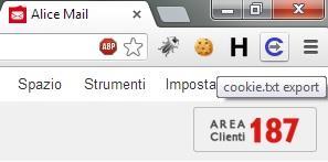 Telecom Italia Cookie Handling Vulnerability Export