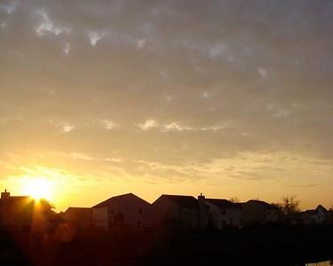 Pic of the Day: Suburban sunrise