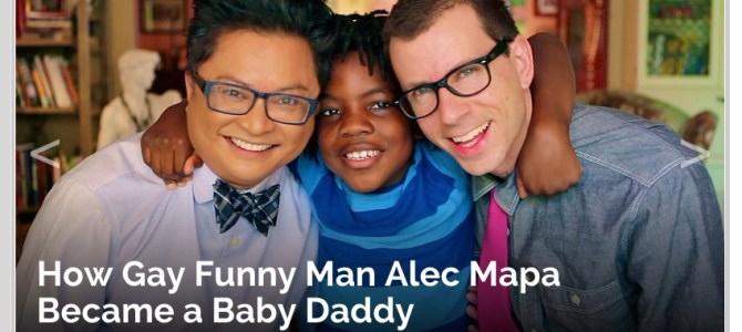 TV Insider: How Gay Funny Man Alec Mapa Became a Baby Daddy