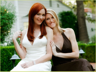 """A quick chat with Calpernia Addams and Andrea James of """"Transamerica Love Story"""""""
