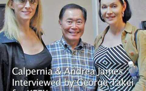 George Takei interviews Calpernia Addams and Andrea James