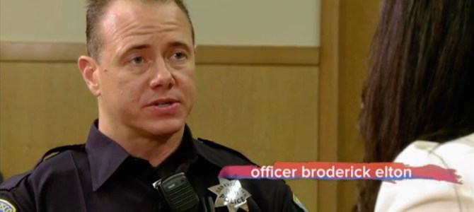 Transgender Police Officer Opens Up About Being Yelled at During LGBT Rally: 'My Walk Through Life Is Very Different'
