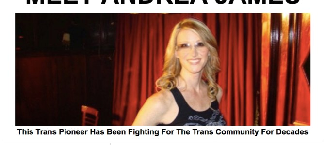 This Trans Pioneer Has Been Fighting For The Trans Community For Decades