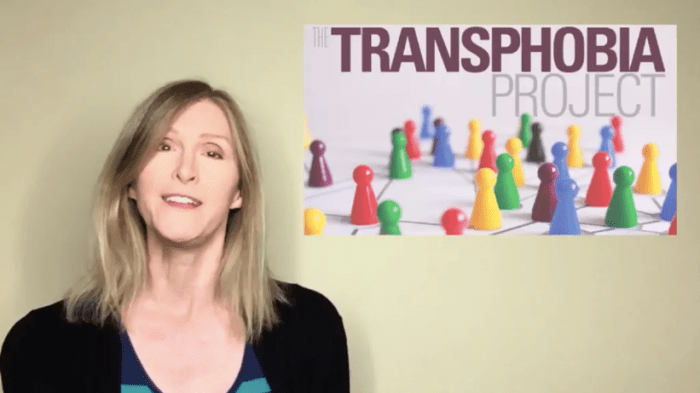 andrea james and the transphobia project