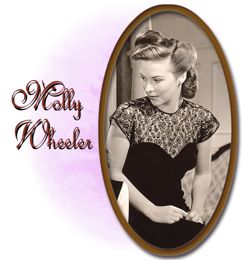 """Andrea King as Molly Wheeler in """"The Very Thought of You,"""" Warner Bros., 1944."""