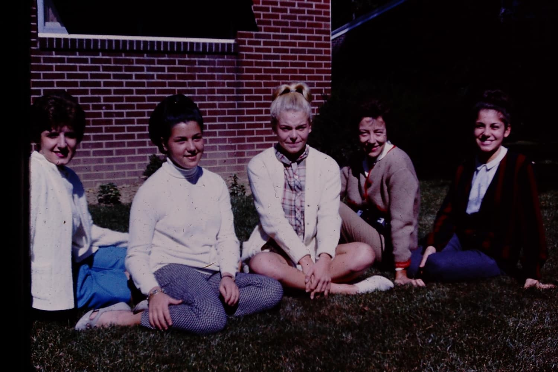 Aunt Sandy, Nena, my mom, my grandma, and my Aunt Gayle circa1964 in Amherst, Ohio.