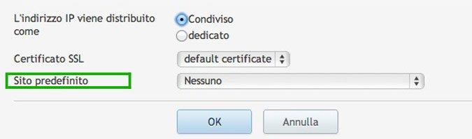 Plesk 11 - Gestione IP